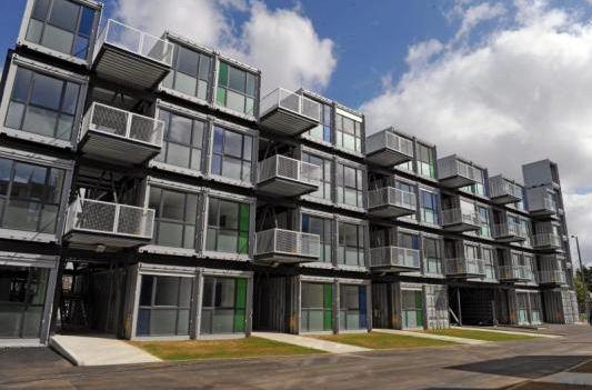La maison en containers l 39 habitat de demain for Habitat container