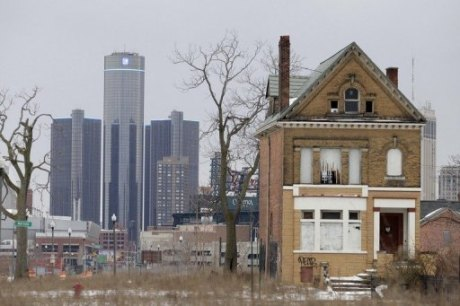 General Motors 460x306 Etats Unis : Detroit placé sous tutelle
