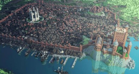 kings landing 2 460x247 Le monde de Game of Thrones