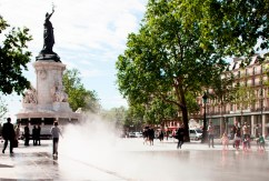 En images : la nouvelle place de la République à Paris