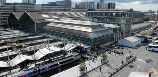 Vue extérieure. Crédits photo : SNCF-AREP / Photo M. Lee Vigneau