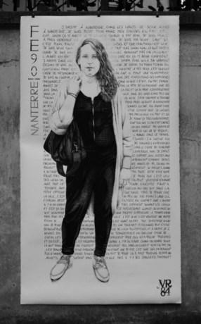 """Une œuvre tirée de l'exposition """"La Cité des Femmes"""". Crédit photo: VR84"""