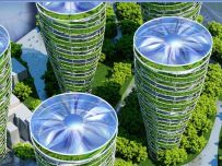 Antismog Towers - Paris Smart City 2050 - © Vincent Callebaut