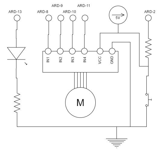 homemade printed circuit board