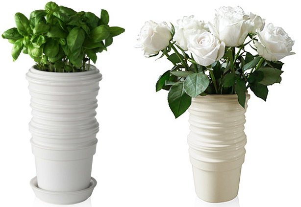 Pots And Vases That Stack Up Urban Gardens