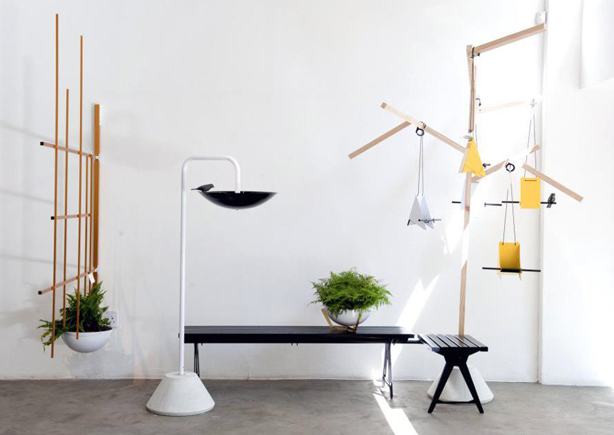 Designer Inspired to Design Planters and Furniture After Fracturing Hip