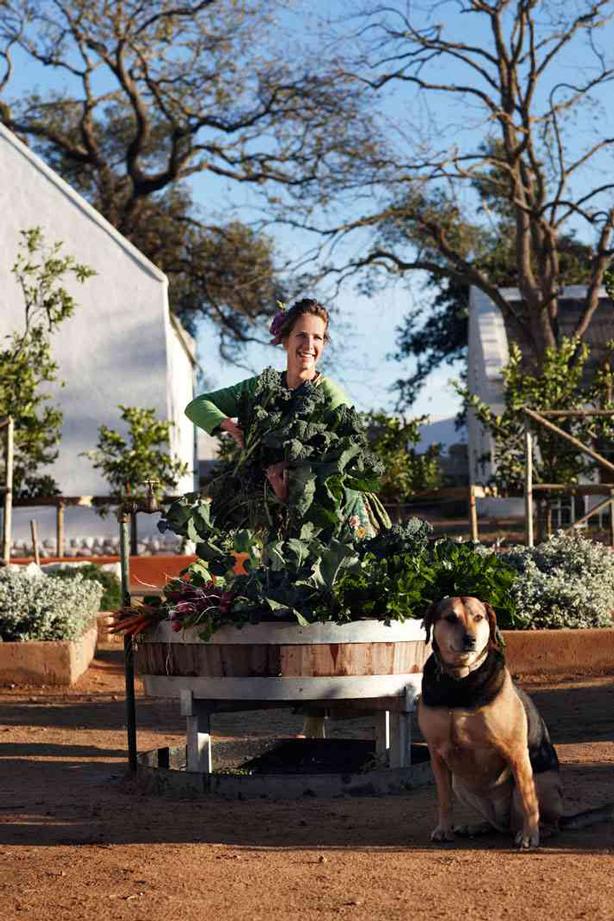 Babylonstoren-gardener