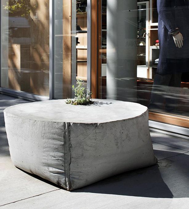 Takeokikuchi Concrete Planter And Bench Harshforms