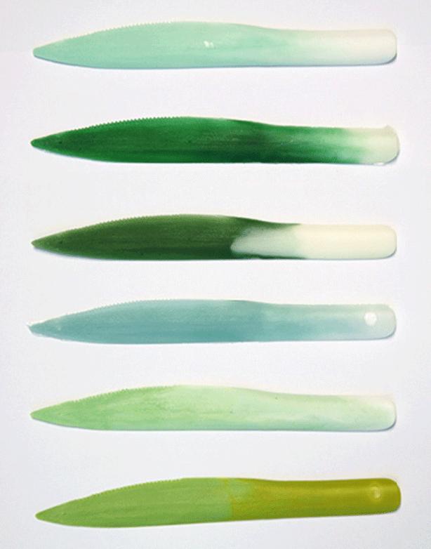Leeks-cutlery