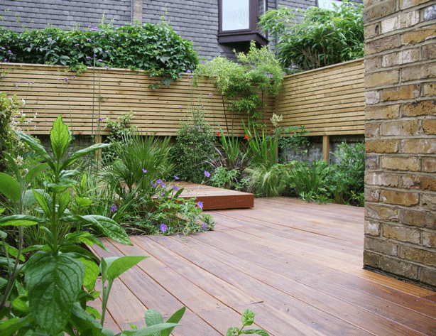 Small-decked-rooftop-garden-oasis-jenny-bloom-garden-design-uk