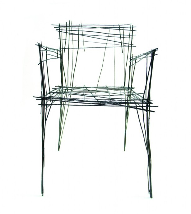 12 indoor outdoor wire furniture and home decor pieces for Dibujar un mueble en 3d