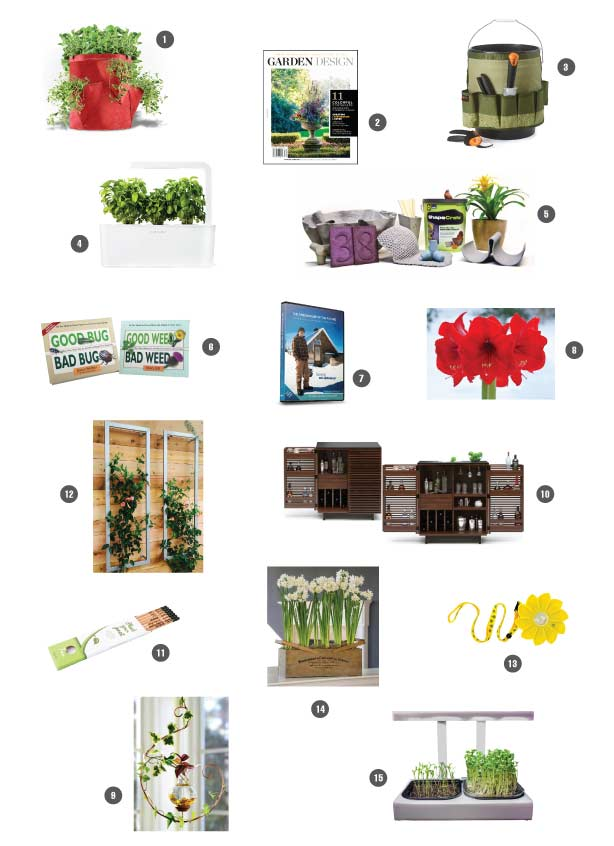 Urban gardens 2015 holiday gift guide fandeluxe Image collections
