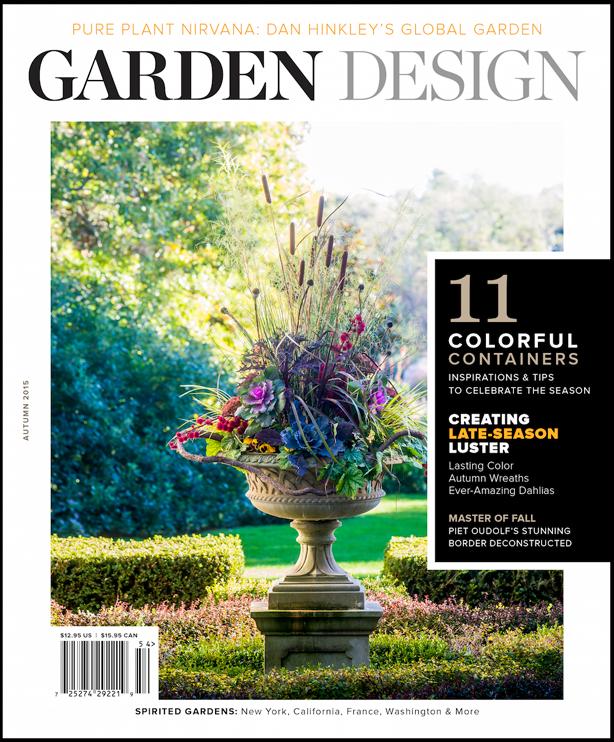 Urban gardens 2015 holiday gift guide garden design magazine gardendesigncoverautumn2015s fandeluxe Image collections