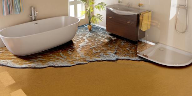 Simple 3D Bathroom Flooring Designs 3D Floors Price