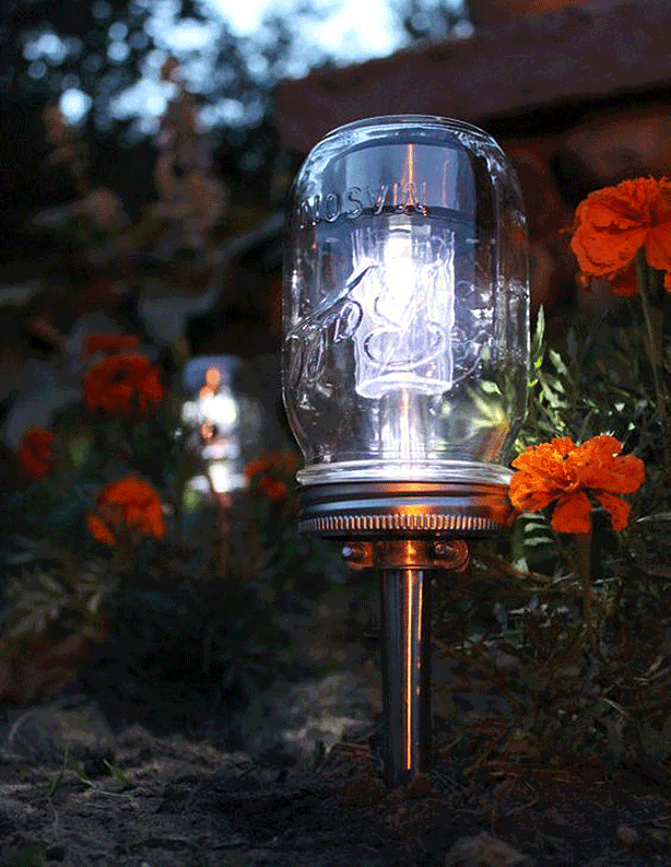 Cool Sustainable And Stylish DIY Ideas For Outdoor Solar Lighting Urban Gar