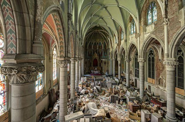 Fall In New England Wallpaper Haunting Photographs Inside Beautiful Abandoned Churches
