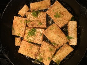 Lemon-Garlic-Dill Tofu