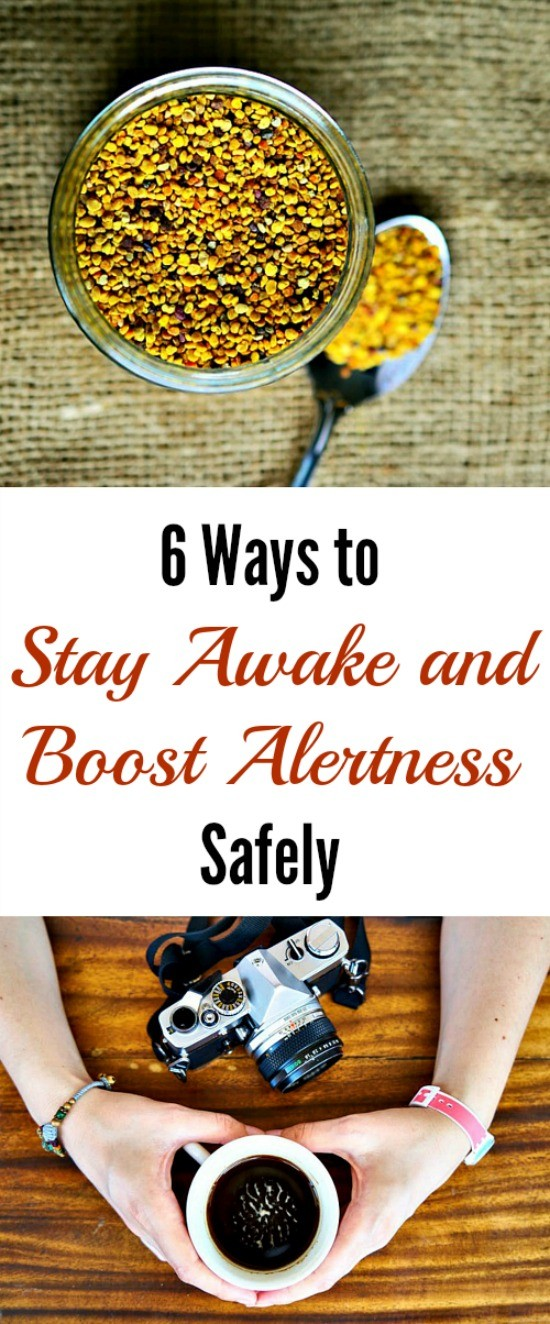 6 Ways To Stay Awake And Boost Alertness Safely