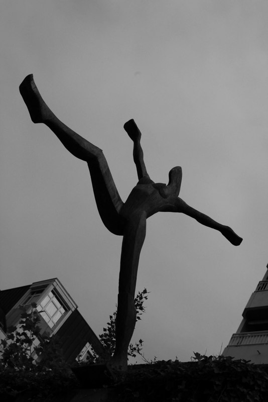 Staue Tulipier 3 BW
