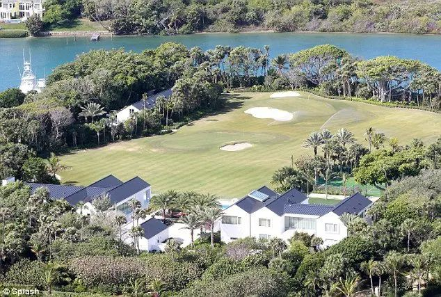 tiger woods home golf course florida