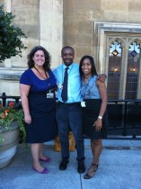 Heidi Alexander, Trevor Cole & Leila Thomas at House of Commons