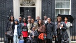 Yesterday, Tuesday 25th October, members of the Urban Synergy Steering Group and Young Ambassadors went on a tour of 10 Downing Street