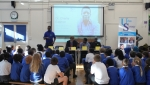 Urban Synergy Professional Role Models and volunteers visited Eliot Bank Primary School in Sydenham to engage with an audience of 60 students aged 10/11years of age