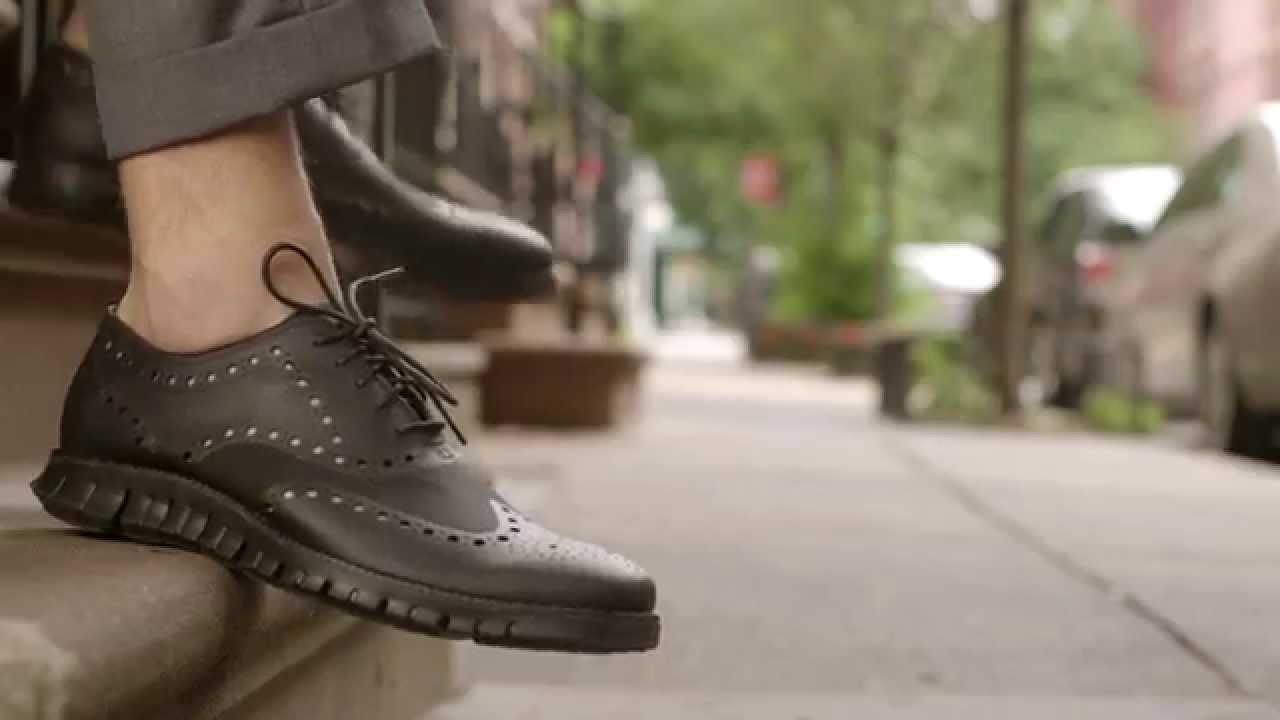 Cole Haan Designs Zero Nonsense Dress Shoes With Zerogrand