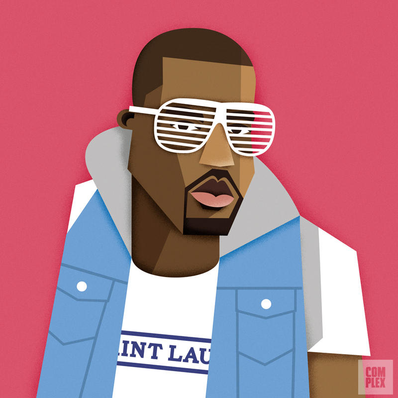 rappers Kanye URBe