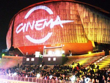 L'Auditorium è sede del Festival del Cinema di Roma