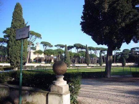 Piazza di Siena in Villa Borghese