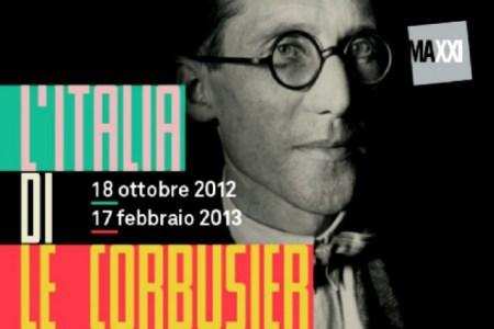 """Maxxi: """"L'Italia di Le Corbusier"""" fino al 17 febbraio"""
