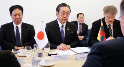 Linkevičius meets with Japanese business delegation   News   Ministry of Foreign Affairs