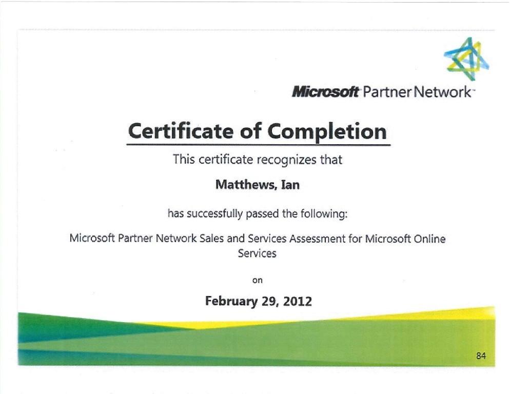 microsoft certificate online - Josemulinohouse