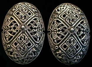 Museum Replica Viking Celtic Anglo Saxon Brooches