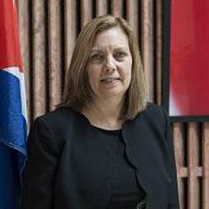 Ambassador Josefina Vidal - Cuba's Ambassador to Canada. Lead negotiator in talks with Barack Obama Administration leading to reestablishment of US-Cuba diplomatic relations.