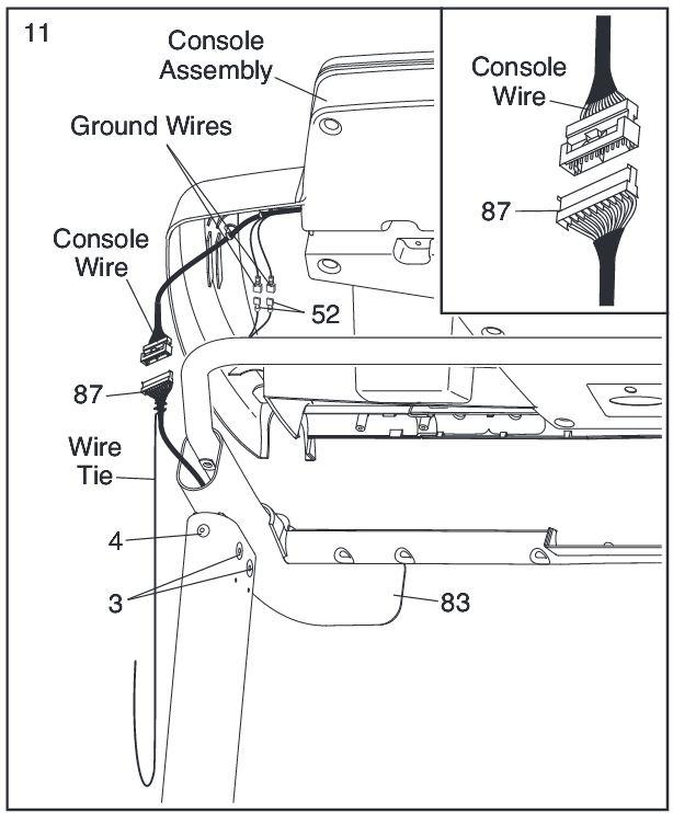 treadmill motor controller schematic diagram