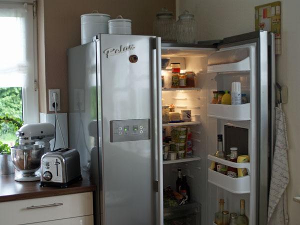 Awesome Küche Mit Side By Side Kühlschrank Ideas - House Design - kuhlschrank finden tipps trendsetter kuche
