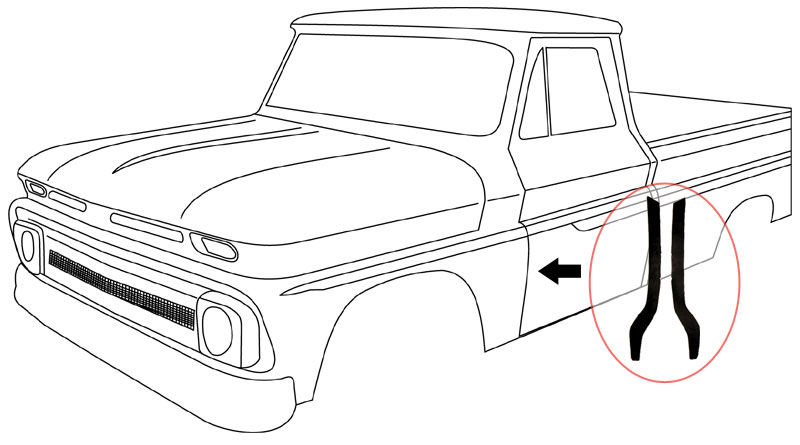 1960 1963 chevy truck parts