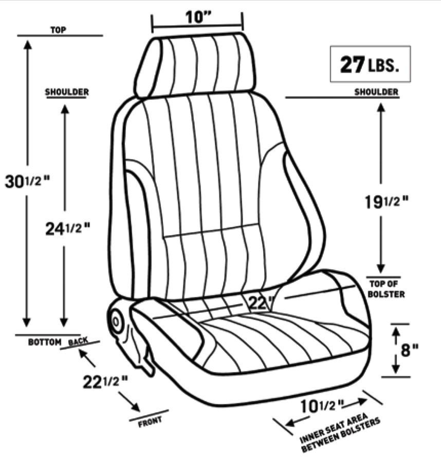 chevy truck bucket seats