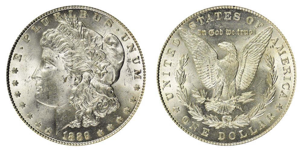 1889 Morgan Silver Dollars Value and Prices
