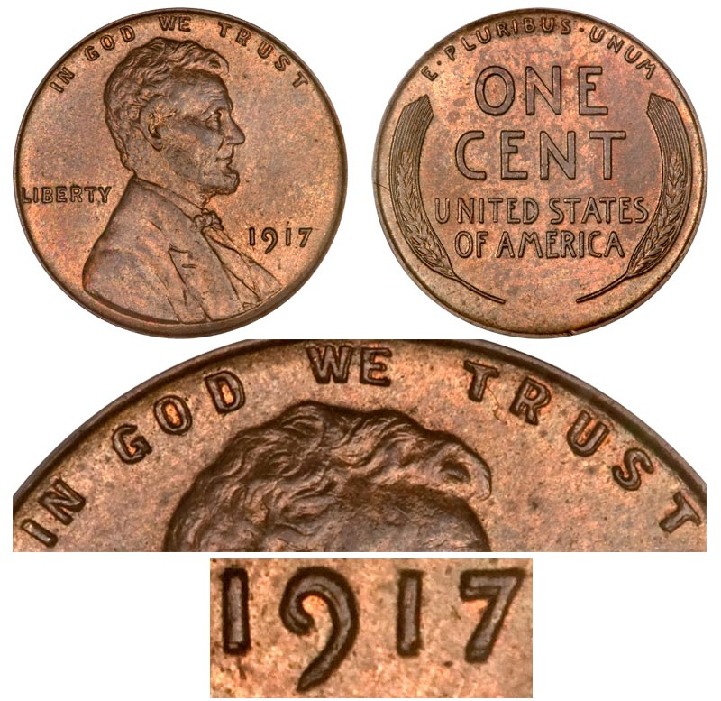 Us Quarter Values The Study Of Coin Values And Past Trends May Predict 1917 Lincoln Wheat Cent Doubled Die Obverse Bronze