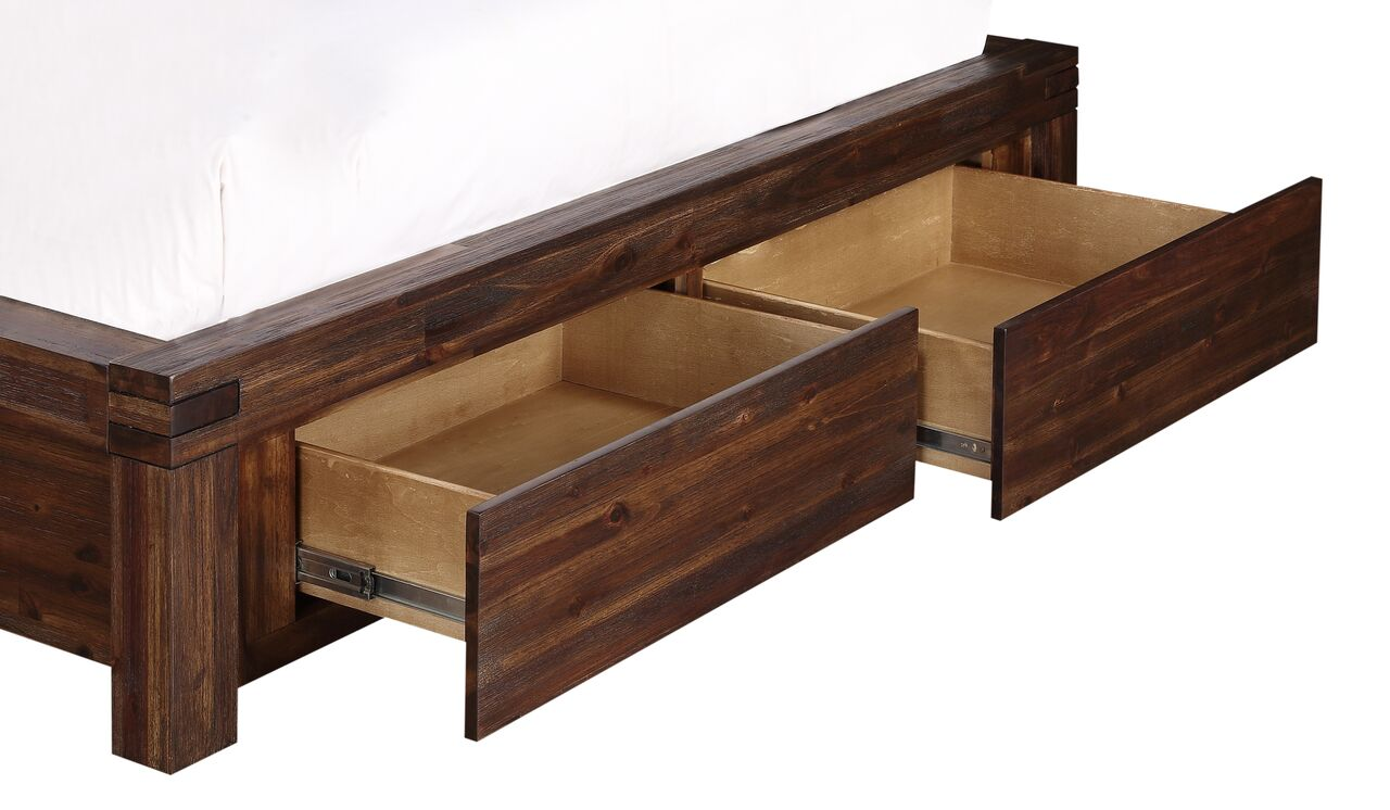 Meadow Solid Wood Platform Storage Bed By Modus Usa