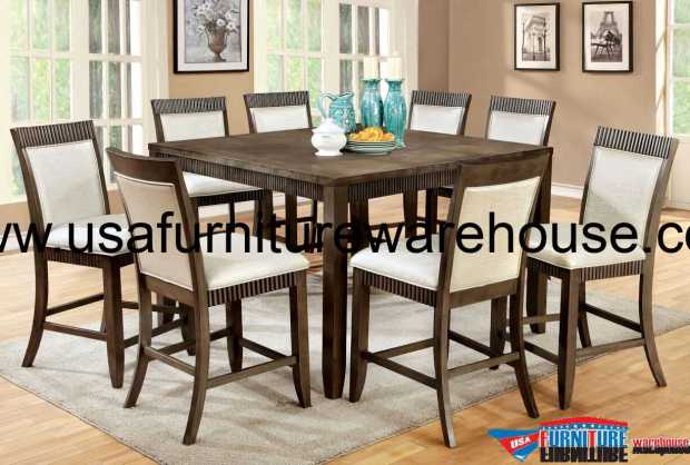 9 piece forbes ii counter height dining set