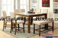 9 Piece Melston Counter Height Dining Set With Bench