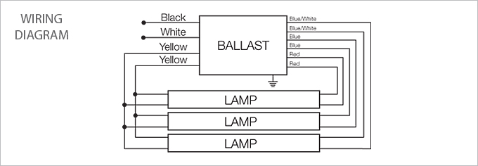 t8 fluorescent bulbs wiring diagram