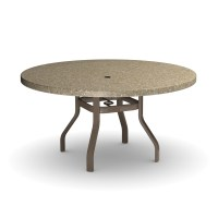 """Homecrest Stonegate 54"""" Round Dining Table 