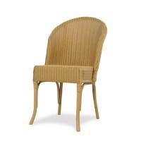 Lloyd Flanders Round Back Wicker Dining Chair