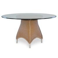 "Lloyd Flanders Mandalay 54"" Round Wicker Dining Table | 27054"