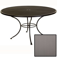 OW Lee Micro Mesh 54 inch round Dining Table | 54-MMU
